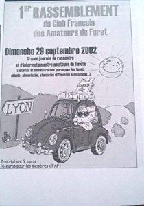 Evènements du CFAF en 2002